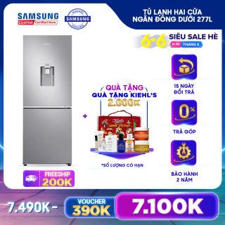 Tủ lạnh hai cửa Ngăn Đông Dưới Samsung 277L (RB27N4170S8/SV) - REF