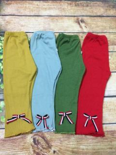 combo 2 chiếc quần legging nơ cho bé gái thumbnail