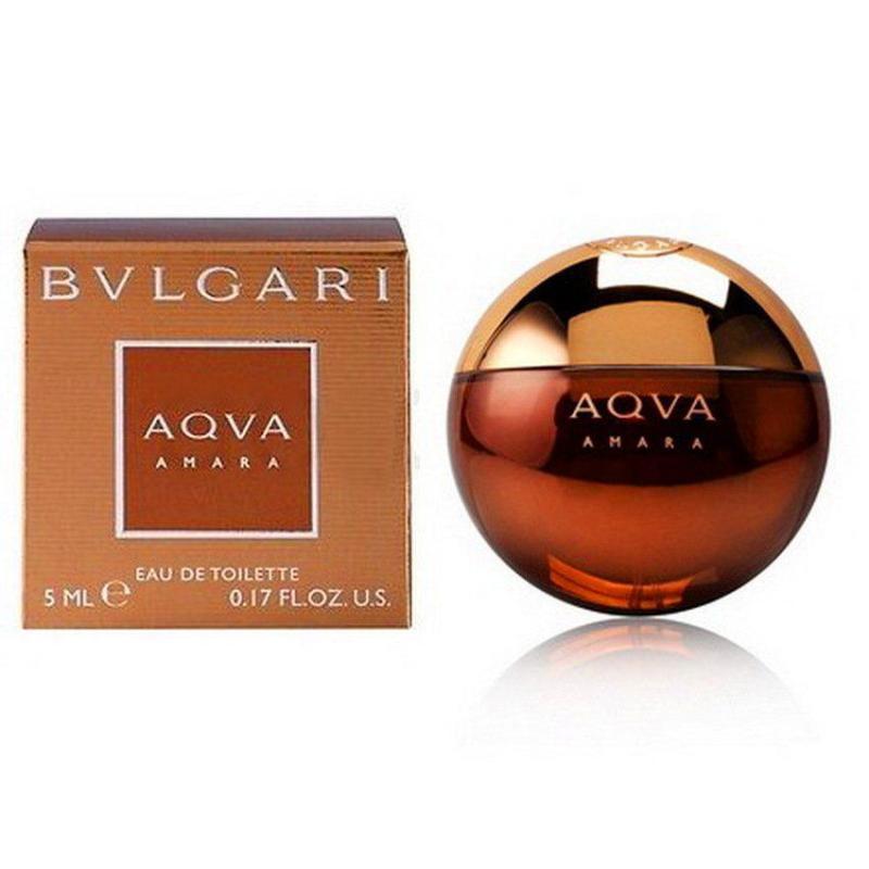 Nước hoa nam BVL Aqva Amara EDT 5ml