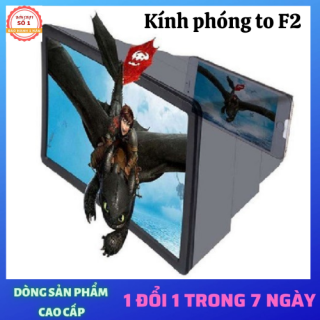 (CHỐNG CẬN) Kính 3D phóng to màng hình điện thoại ,ipad có giá đỡ cho hình ảnh nét , chân thật thumbnail