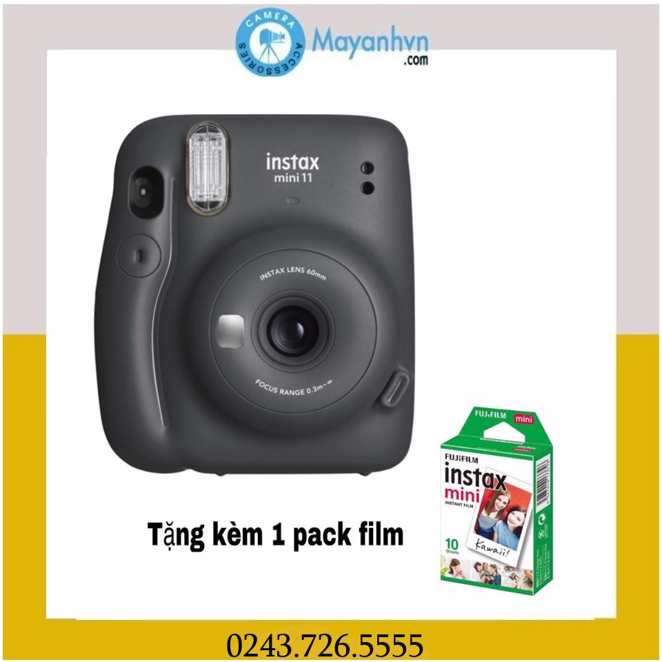 Máy Chụp ảnh Lấy Ngay Fujifilm Instax Mini 11- Hàng Chính Hãng- Tặng Kèm 1 Pack Film Giá Siêu Rẻ