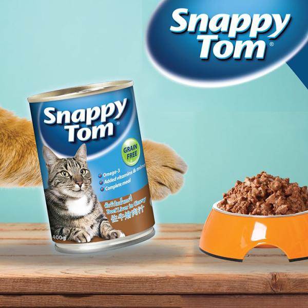 Pate Snappy Tom 400g Dành cho Mèo lớn - CutePets