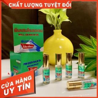 [CHÍNH HÃNG] Lốc 12 Chai Dầu Gió Lăn Chống Say Tàu Xe Poy-Sian Brand Pim Saen Balm Oil thumbnail