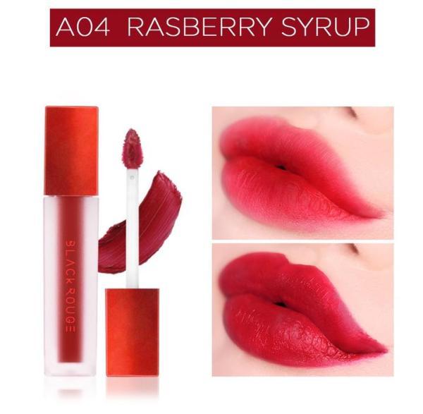 Son kem lì Black Rouge Air Fit Velvet Tint [Best Seller] (Ver.01-Ver.02-Ver.03-Ver.04-Ver.5) không gây khô môi lên màu chuẩn giữ màu lâu