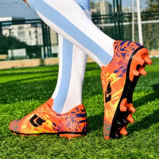 36-45 Đàn Ông Và Phụ Nữ Giày Đá Bóng Gai Bị Hỏng Futsal Giày Đá Bóng Trong Nhà Đá Giày Bóng Đá Sân Cỏ Nhân Tạo Huấn Luyện Bóng Đá Da Giày Thoải Mái Bên Trong Chống Va Đập thumbnail