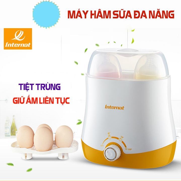 máy hâm sữa và tiệt trùng - máy hâm sữa cho bé - máy hâm sữa tiệt trùng 4 Chức Năng Giữ Nhiệt Liên Tục Sữa Và Nước Cho Bé