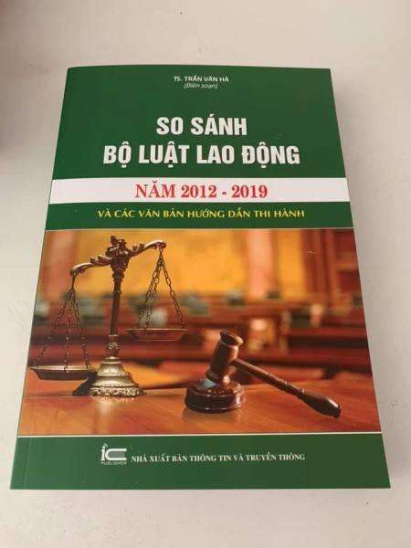 Mua So sánh Bộ luật lao động 2012- 2019