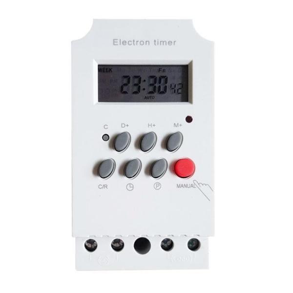 01 cái Công tắc hẹn giờ Electron timer KG316T-II, 220V AC, 25A - EOM