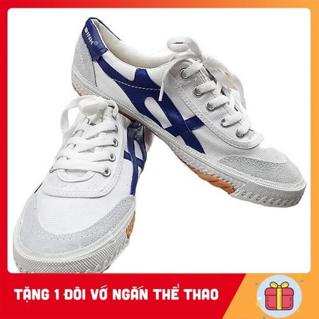 Giày Thượng Đình - Giày Bata Vải Thể Thao - Tặng 1 Đôi Vớ Ngắn Thể Thao giá rẻ