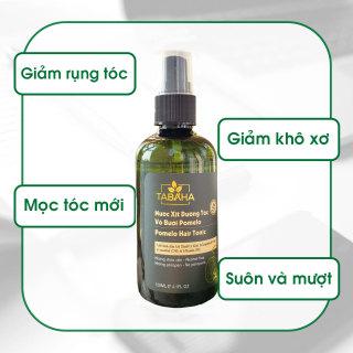 Nước xịt dưỡng tóc tinh dầu bưởi & Vitamin B5 Pomelo Tabaha 120ml giúp mọc tóc nhanh thumbnail