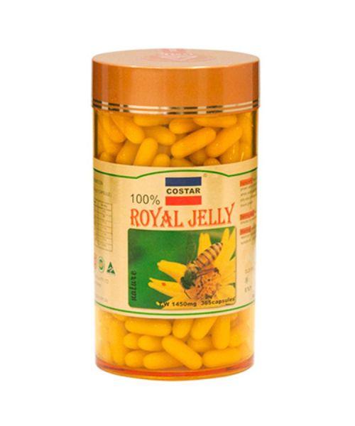Sữa Ong Chúa Úc Costar Royal Jelly 1450mg 365 Viên Ngăn Ngừa Lão Hóa Tri Thâm Nám giá rẻ