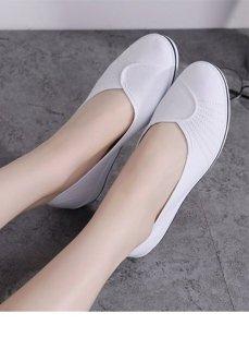 Giày Búp Bê Nữ Siêu Nhẹ - Chất Liệu Thoáng Khí - Kiểu Dáng Nhẹ Nhàng, Nữ Tính - Đế 4cm Nâng Chiều Cao - Siêu Bền Đẹp thumbnail
