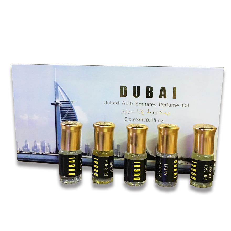 GIÁ DÙNG THỬ SIÊU RẺ - Set 5 chai tinh dầu nước hoa DUBAI cao cấp