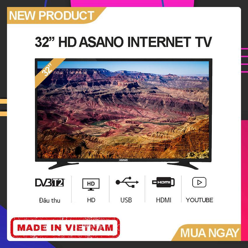 Bảng giá Internet TV Asano 32 inch HD - Model 32EK2 (Kỹ thuật số DVB-T2, Kết nối WiFi, Youtube) - Bảo Hành 2 Năm