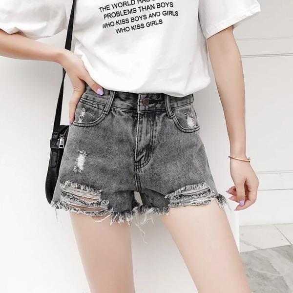 Nơi bán quần short jeans nữ rách đủ size - Hàng đẹp JT661