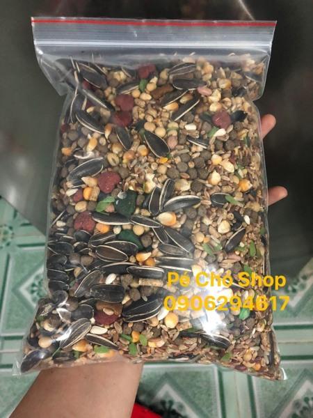 Ngũ cốc Hamster đậu hạt trộn túi 1 ký loại KHÔNG Bỏng gạo .