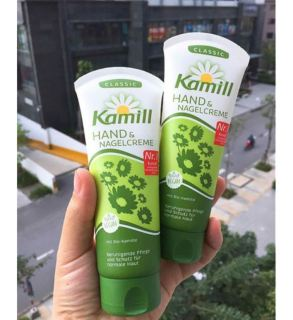 Kem dưỡng da tay và móng Kamill tuýp 100ml dùng được cho cả mẹ bầu - Nội địa Đức thumbnail