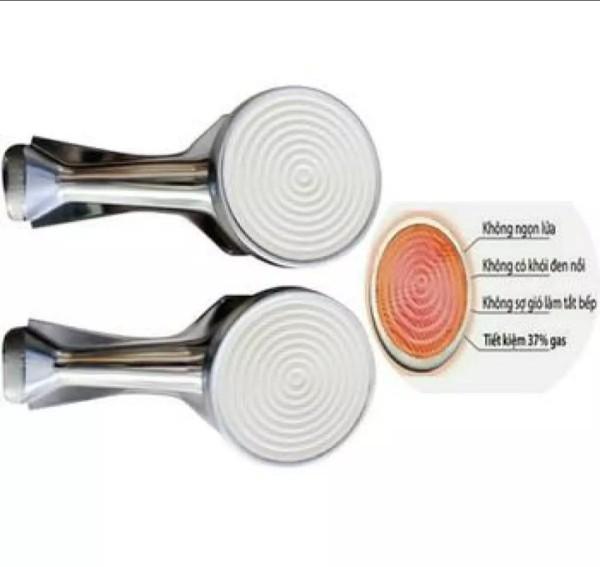 Combo 2 chiếc họng điếu   bếp ga hồng ngoại phi 90 dày chắc chắn