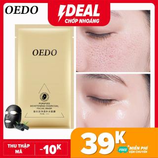 OEDO Mặt nạ than hoạt tính làm sạch lỗ chân lông ngăn ngừa mụn bật tông da sau lần đầu sử dụng thumbnail