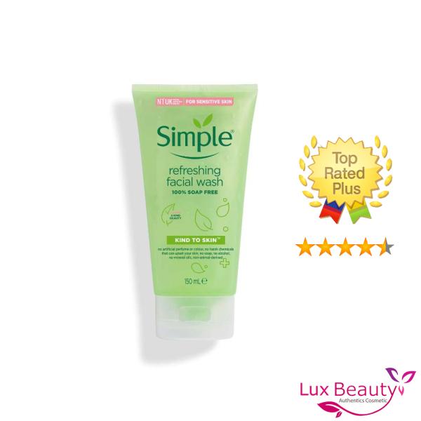 Sữa Rửa Mặt Simple Kind To Skin Refreshing Facial Wash Gel
