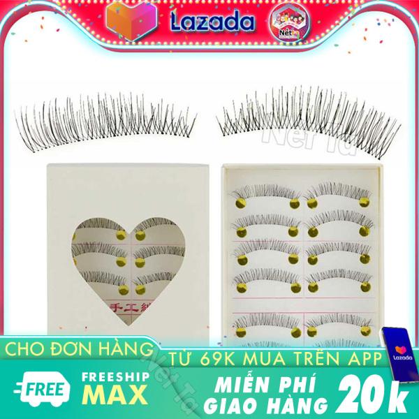 Mi giả 3D handmade Nét Ta NT219 bộ 20 lông mi mềm mại, tự nhiên