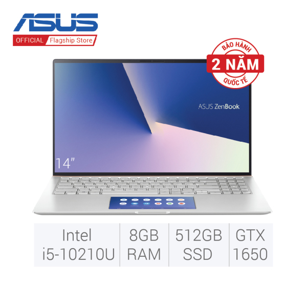 Bảng giá Laptop ASUS ZenBook UX534FTC-A9169T (i5-10210U/8GD3/512G-PCIE) 15.6FHD - màu BẠC Phong Vũ