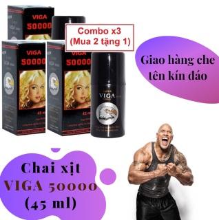 Combo x3 (Mua 2 tặng 1) Chai xịt VIGA 50000 cao cấp (45ml) - hàng chính hãng thumbnail