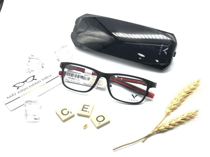 Giá bán Gọng kính cận thời trang Chính Hãng CEO.V CV668 53-MBT10-52