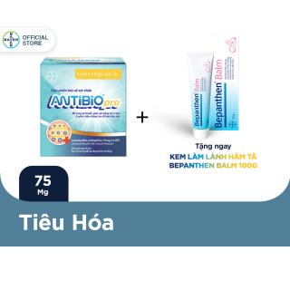 Thực Phẩm Bảo Vệ Sức Khoẻ Bổ Sung Lợi Khuẩn Antibio pro 100 Gói (10 Túi x 10 Gói Bột 1G) - Tặng 1 Tuýp Bepanthen Balm 100G thumbnail