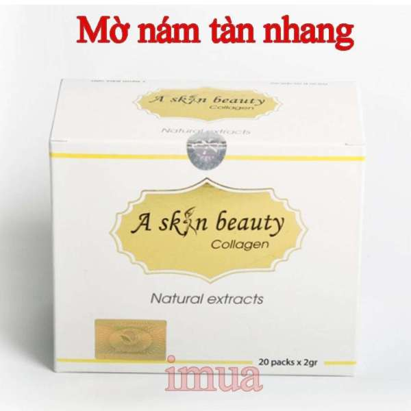 Thực phẩm Mờ nám, tàn nhang, trắng da A Skin Beauty Collagen Học Viện Quân Y giá rẻ