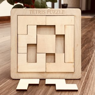 Đồ Chơi Gỗ Thông Minh, Đồ Chơi Xếp Hình Tetris Cho Bé, Được Làm Thủ Công Từ Chất Liệu Gỗ Tự Nhiên Tại Xưởng Việt Nam Mang Thương Hiệu Benrikids, Rèn Luyện Những Kỹ Năng Cơ Bản, Nâng Bước Cùng Bé Tới Trường thumbnail