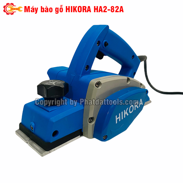 Máy bào gỗ HIKORA HA2-82A-Tặng kèm 01 bộ lưỡi bào-Hộp giấy-Bảo hành 6 tháng