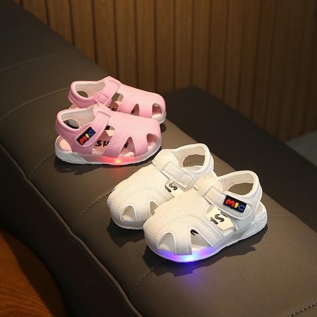 Sandal đế đèn dép rọ cao su siêu mềm cho bé trai bé gái, sản phẩm tốt, chất lượng cao, cam kết như hình, độ bền cao giá rẻ