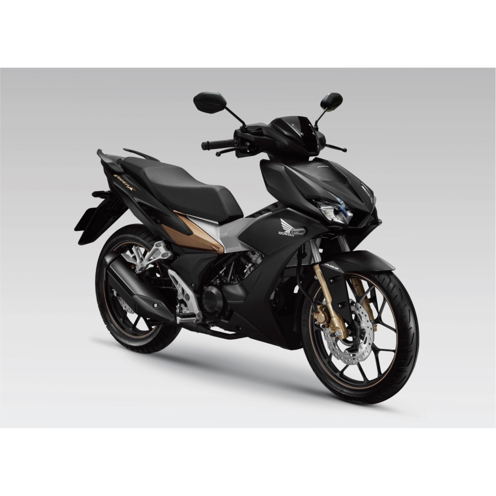 Honda Winner X 150cc ( Phiên bản đen mờ vàng đồng )