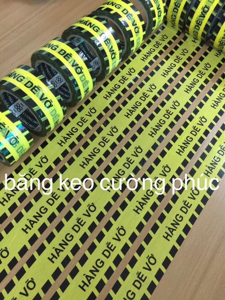 Băng Keo Logo Niêm Phong  Hàng Dễ Vỡ bảo vệ hàng  / 6 cuộn