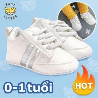 Giày tập đi đế mềm cho bé; Giày cho bé trai/bé bái; Thích hợp cho bé từ 0-1 tuổi, chống trơn trượt siêu dễ thương HOT