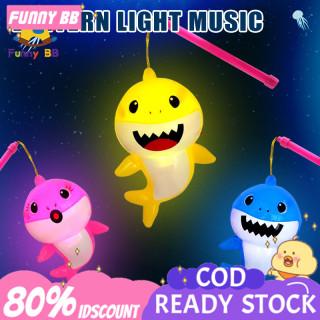 FB Đèn Lồng Hình Cá Mập Hoạt Hình Cho Trẻ Em Đèn Lồng Âm Nhạc Trung Thu Lễ Hội Đồ Chơi Đèn Lồng Hoạt Hình Chạy Điện,lồng đèn trung thu,lồng đèn trung thu cho bé,đèn trung thu,long den trung thu dep thumbnail