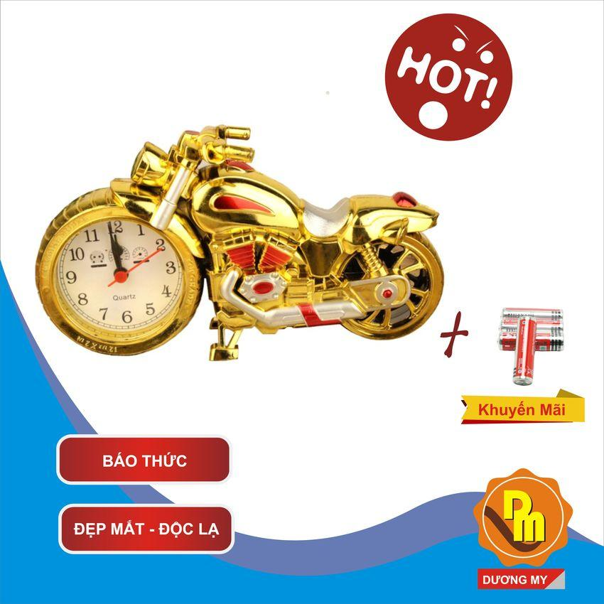 Nơi bán Đồng Hồ Để Bàn Hình Xe Moto Có Báo Thức (Khuyến mãi pin) - Dương My