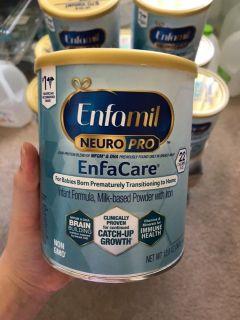 Sữa Enfamil Enfacare Neuropro Mỹ thumbnail