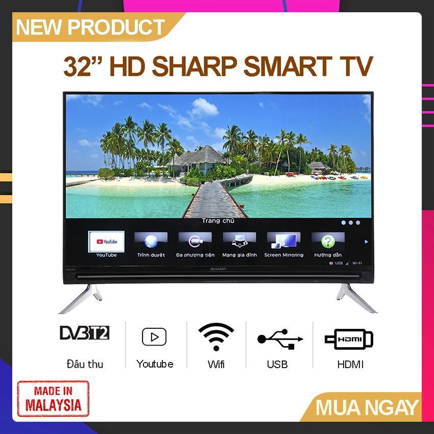 Bảng giá Smart TV Sharp 32 inch HD - Model 32SA4500X Hệ điều hành Easy Smart, Youtube, Tích hợp DVB-T2, Wifi - Bảo Hành 2 Năm
