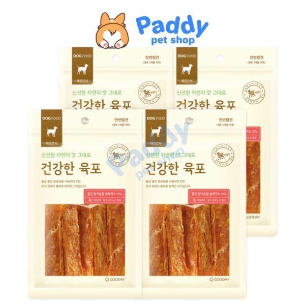 Thịt Sấy Gooday Snack Cho Chó 100g (Nhập khẩu Hàn Quốc)