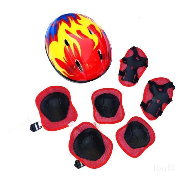 Giá bán Bộ bảo vệ mũ bảo hiểm cho trẻ em Bộ mũ bảo hiểm xe đạp thể thao cho trẻ em Cưỡi / trượt băng / xe tay ga / xe đạp Zdw9F4EP