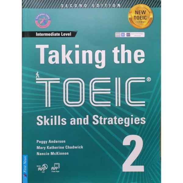 Sách Học Toeic - Taking The Toeic - Skills And Strategies 2 (Tặng 1Mp3) [First News]