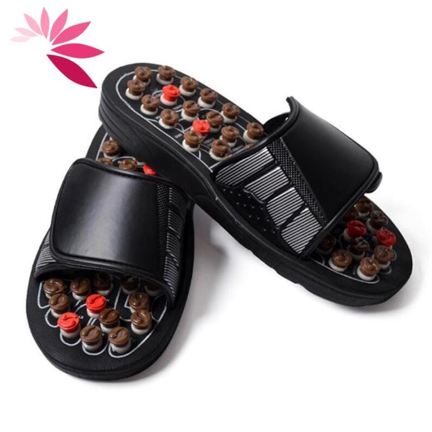 Dép massage , dép bấm huyệt chân, bấm huyệt giảm căng thẳng mệt mỏi 2 size M&L (tương đương size từ 38-41) giá rẻ