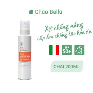 Xịt Chống Nắng Bảo Vệ Da Khỏi Tia UVB Và UBA SPF 50+ 200ml Pharmacist Formulators Sun Spray High Protection - chaobella thumbnail