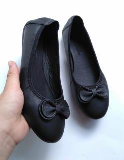 Giày da bò thật cao cấp thương hiệu Bảo Anh hình thật mã số BBCC003 thumbnail