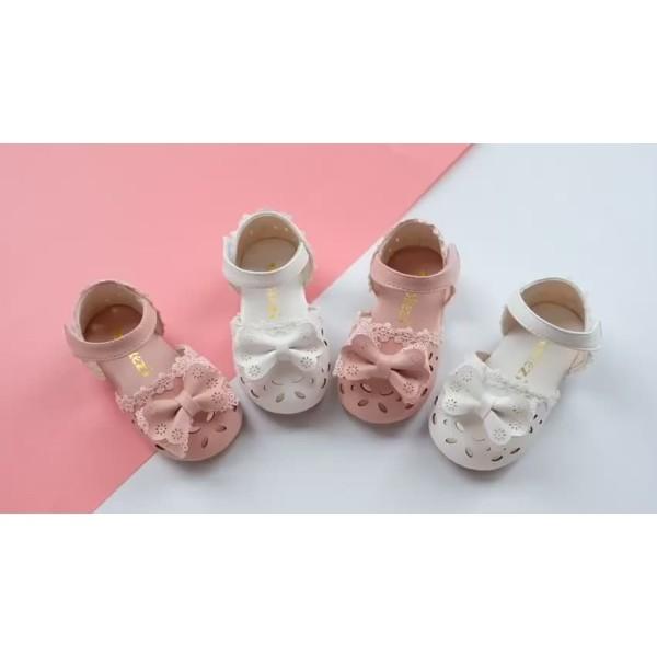 Giá bán Giày Búp Bê Nơ Xinh Cho Bé Gái Từ 1-5 Tuổi