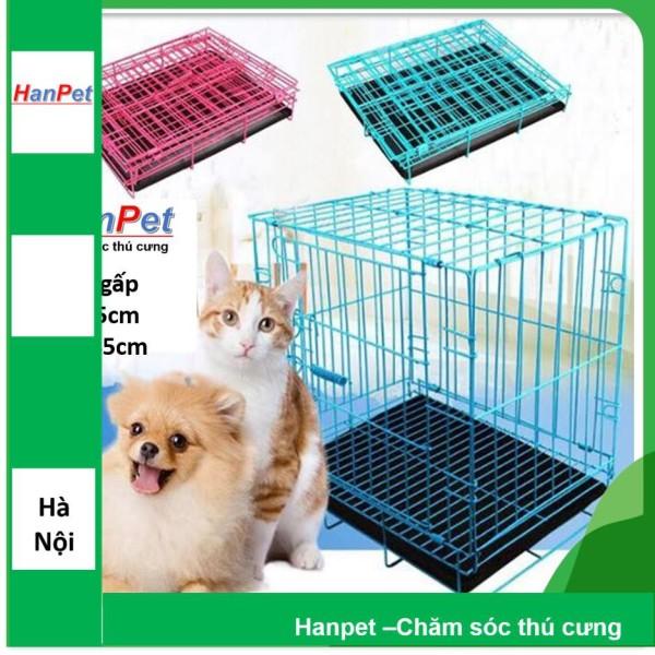 Chuồng chó mèo sơn tĩnh điện Lồng/cũi chó mèo nhỏ dưới 5kg (35x50cm) loại sd50 mỏng