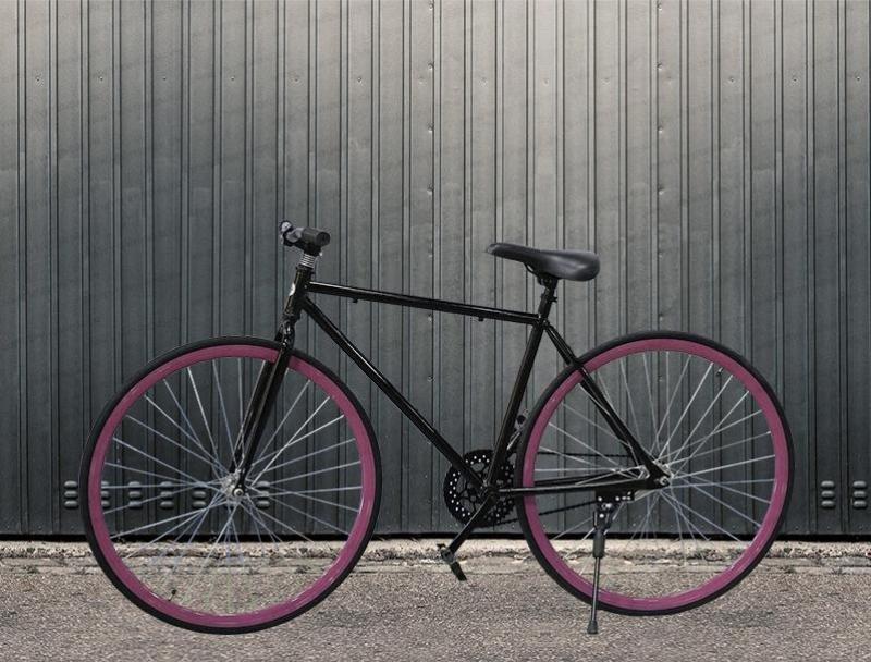 Phân phối Xe đạp thể thao FIXED GEAR- Hai màu Trắng Và Đen Tuỳ chọn - Hợp kim thép carbon siêu nhẹ-Trẻ trung cá tính dành cho dân sành điệu-Hahoo-Bảo hành 12 tháng 1 đổi 1