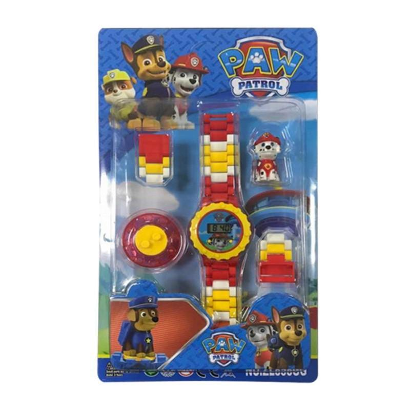 Nơi bán Đồng hồ Lego lắp ráp có hình nhân vật xoay trên mặt đồng hồ dành cho bé trai